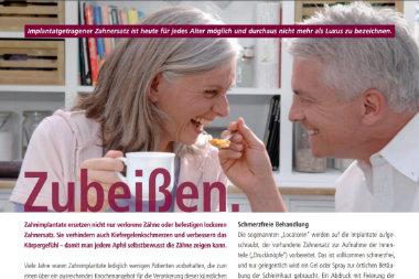 Zahnarzt Düsseldorf - Implantat Zahnersatz