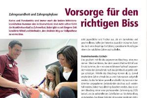 Versorge für den richtigen Biss - Zahnarzt Düsseldorf