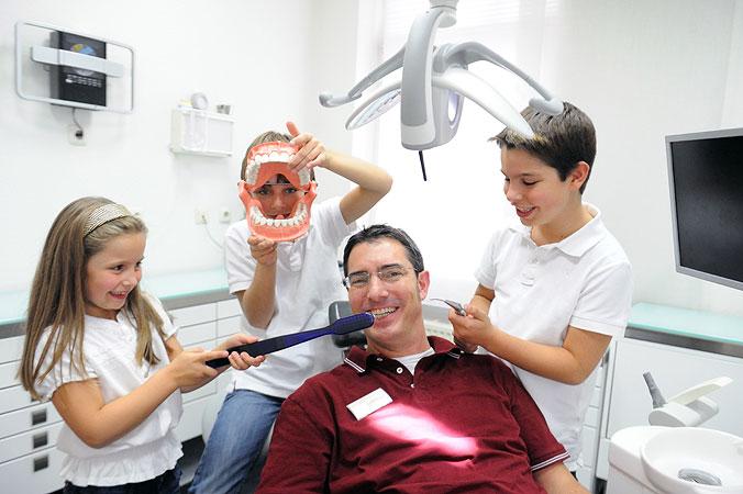 Zahnarzt Düsseldorf - Kinderzahnheilkunde