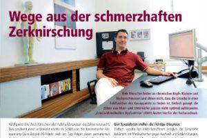 Zahnarzt Düsseldorf - CMD Zahnknirschen, Kiefergelenksbeschwerden