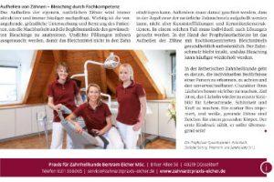 Prohylaxe - Professionelle Zahnreinigung in Düsseldorf